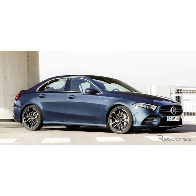 メルセデスベンツの高性能車部門、メルセデスAMGは3月27日、メルセデスAMG『A35 4MATICセダン』(Mercedes-...