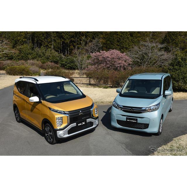三菱から発売された新型軽自動車、『eKワゴン』と『eK X(eKクロス)』は、軽自動車ユーザーの購入重視点の...