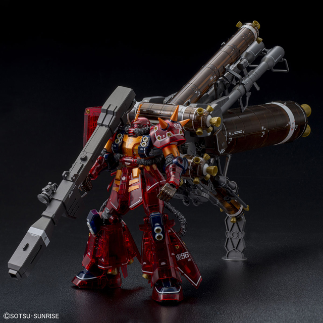 "「MG 1/100 高機動型ザク""サイコ・ザク""Ver.Ka(GUNDAM THUNDERBOLT版)[ハーフメカニカルクリア]」"