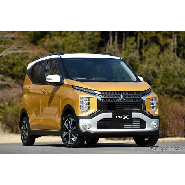 ◆「カスタム」から「クロス」へ  三菱自動車は、3月28日よりSUVテイスト新型クロスオーバー軽自動車『eK...