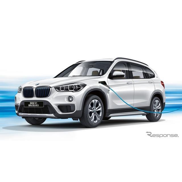 BMWは4月2日、中国で4月16日に開幕する上海モーターショー2019において、『X1』(BMW X1)のプラグインハイ...