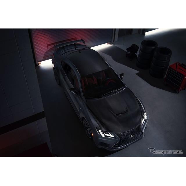 レクサスは4月4日、改良新型『RC F』(Lexus RC F)を間もなく、米国市場で発売すると発表した。米国ベース...