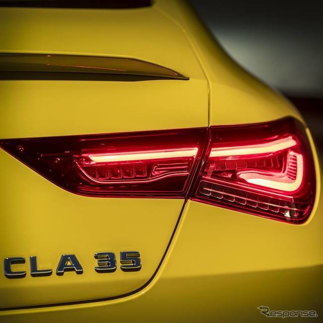 メルセデスベンツは4月5日、新型『CLAクーペ』に、メルセデスAMG『CLA35 4MATIC』(Mercedes-AMG CLA 35 4M...