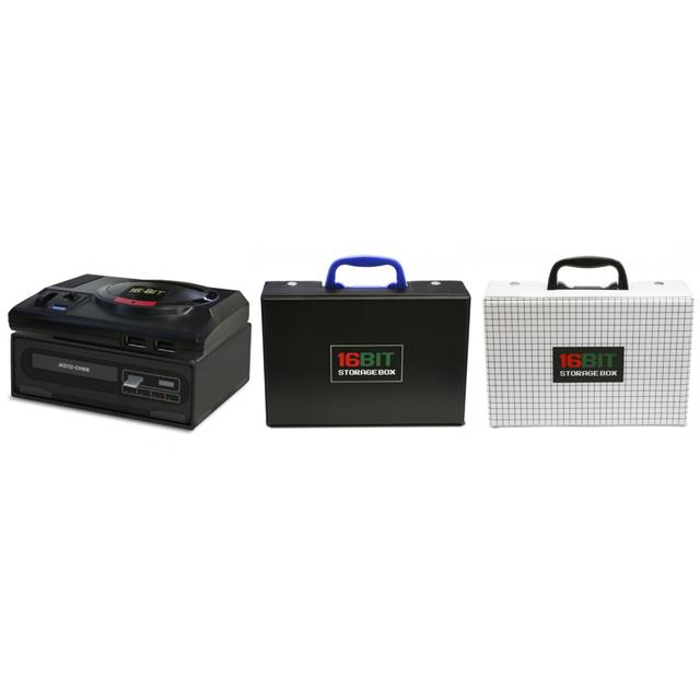「メガドライブ ミニ」用の収納ボックスとケース