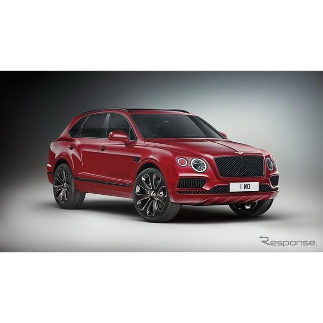 ベントレー・ベンテイガ V8 デザインシリーズ