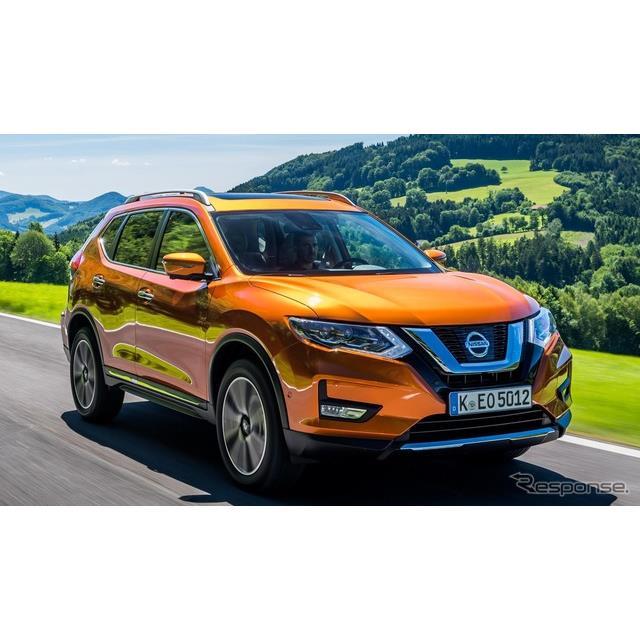 日産自動車の欧州部門は4月11日、『エクストレイル』(Nissan X-Trail)の欧州仕様車に新エンジンを搭載す...