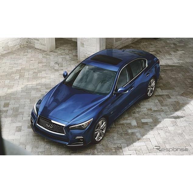 日産自動車の海外向け高級車ブランド、インフィニティは、4月17日に米国で開幕するニューヨークモーターシ...