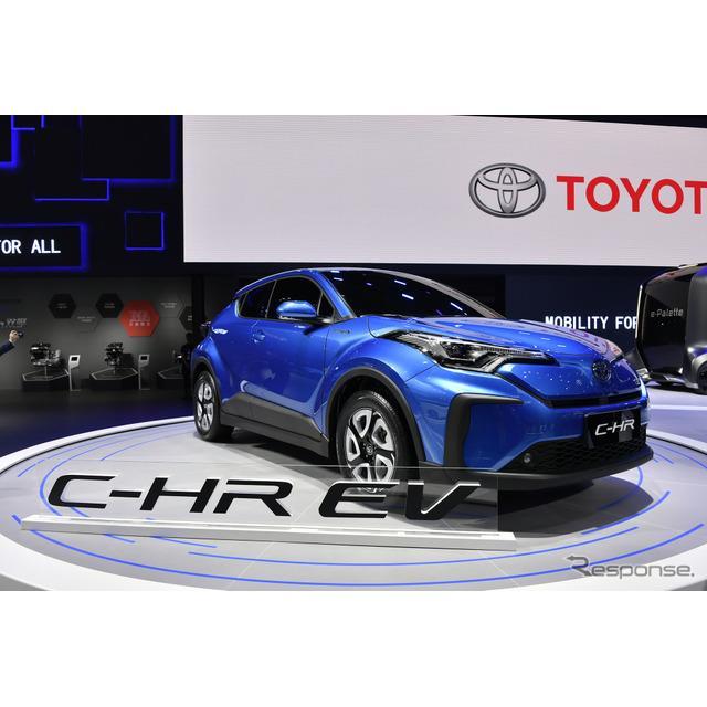 トヨタ自動車の中国部門は4月16日、中国で開幕した上海モーターショー2019において、『C-HR』(Toyota C-HR...