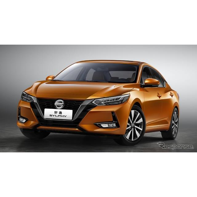 日産自動車の中国部門は4月16日、中国で開幕した上海モーターショー2019において、新型『シルフィ』(Nissa...