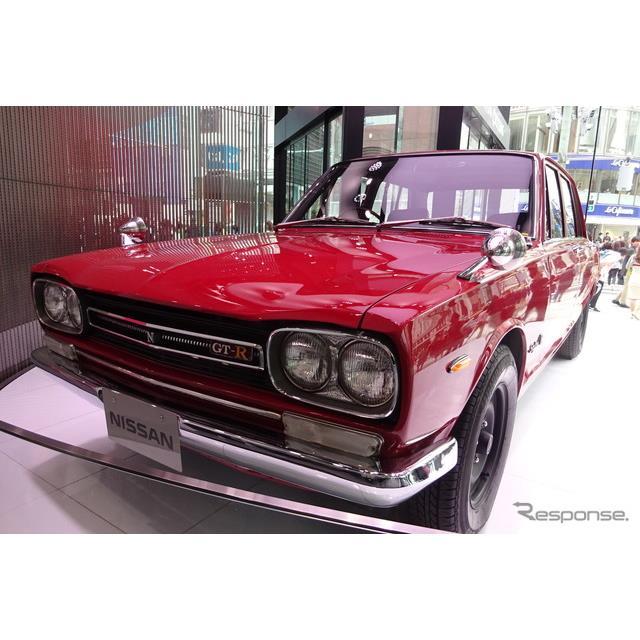 日産自動車は4月17日、東京・銀座の展示施設「NISSAN CROSSING」で日産『GT-R』の2020年モデルや同車および...