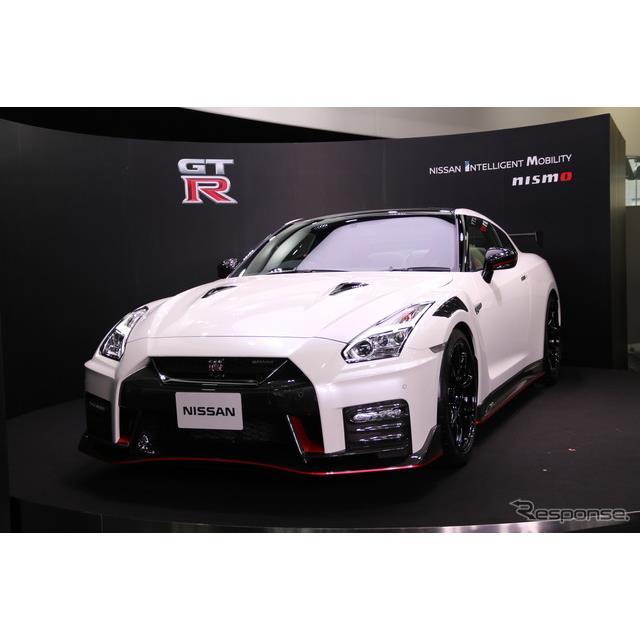 日産自動車は2019年4月17日、東京・銀座にある日産ブランドの発信拠点、NISSAN CROSSINGで『GT-R』2020年モ...