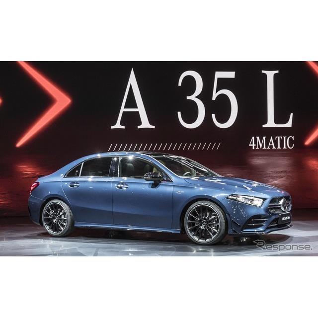 メルセデスベンツの高性能車部門、メルセデスAMGは4月16日、中国で開幕した上海モーターショー2019において...