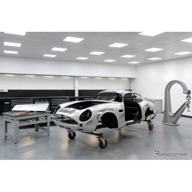 60年ぶりに復刻生産されるアストンマーティン DB4 GT Zagato Continuation の最初のボディ