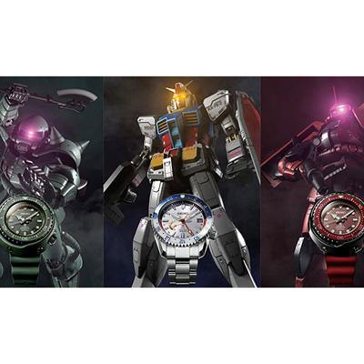 RX-78-2は63万円、セイコーウオッチが「ガンダム」コラボ腕時計を発売
