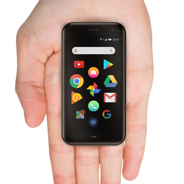 手のひらサイズ3.3型スマホ「Palm Phone」国内発売