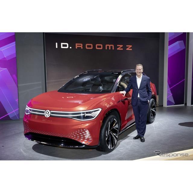 フォルクスワーゲンの電動SUVコンセプト、ID. ROOMZZ(上海モーターショー2019)