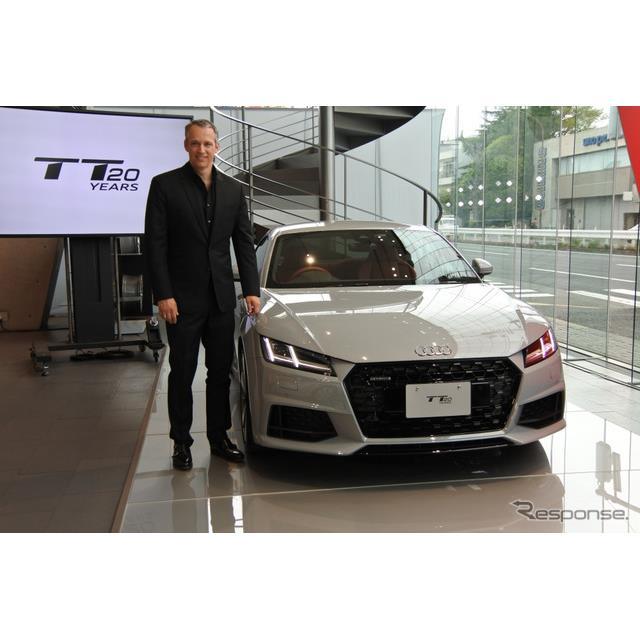 アウディジャパンは一部改良したTTシリーズを5月9日から順次販売を開始すると発表した。外観をよりスポーテ...