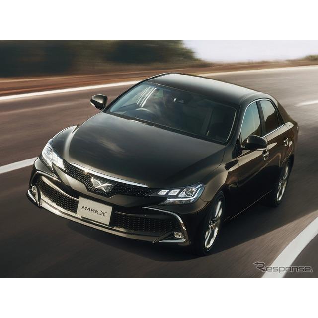 トヨタ自動車は、『マークX』の生産終了に伴い、特別仕様車「250S/250S Four ファイナルエディション」を設...