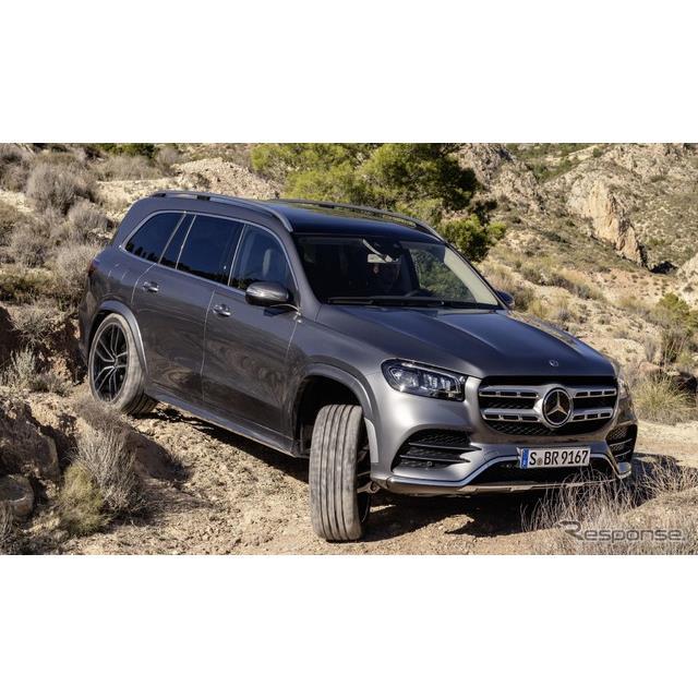 メルセデスベンツは4月24日、新型『GLS』(Mercedes-Benz GLS)の欧州受注を開始した、と発表した。ドイツ...