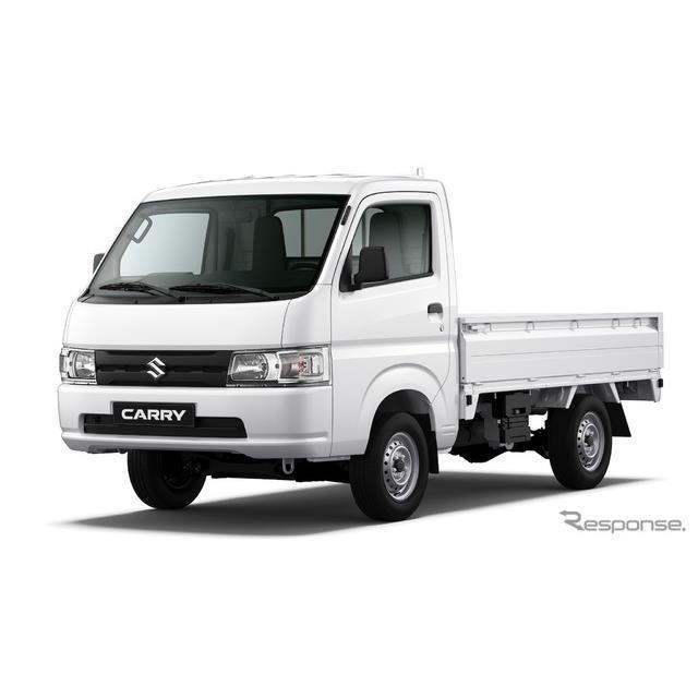 スズキのインドネシア子会社スズキ・インドモービル・モーター社は4月25日、グローバルモデルの小型トラッ...