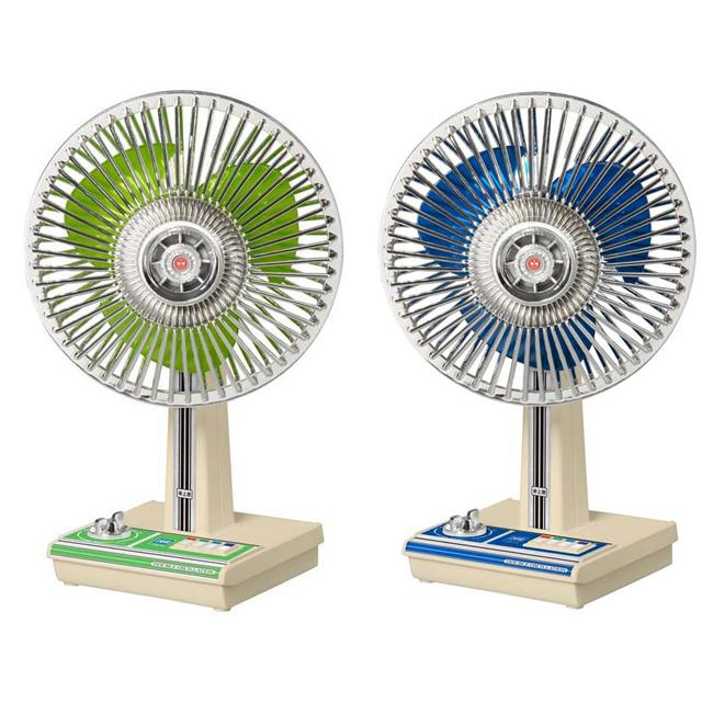 「昭和扇風機 SW-4G」「昭和扇風機 SW-4B」
