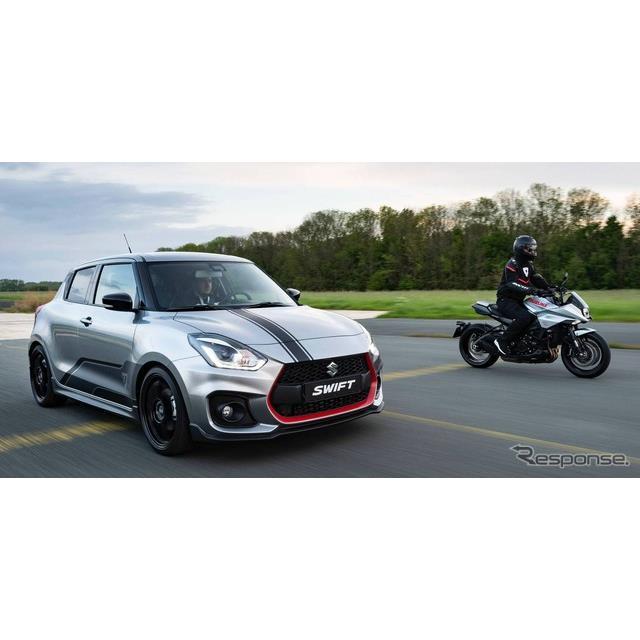 スズキの欧州部門は、『スイフトスポーツ』に「カタナ」(Suzuki Swift Sport Katana)を設定し、限定30台...
