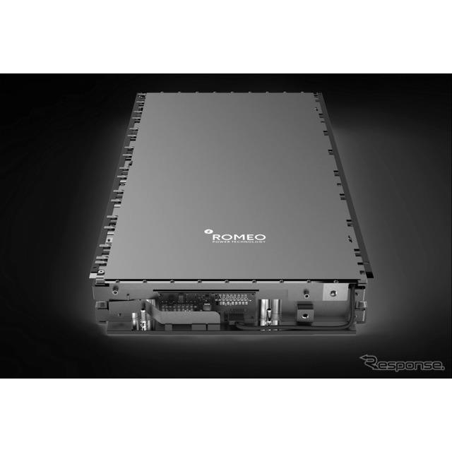 ロメオパワーテクノロジー社のバッテリーパック