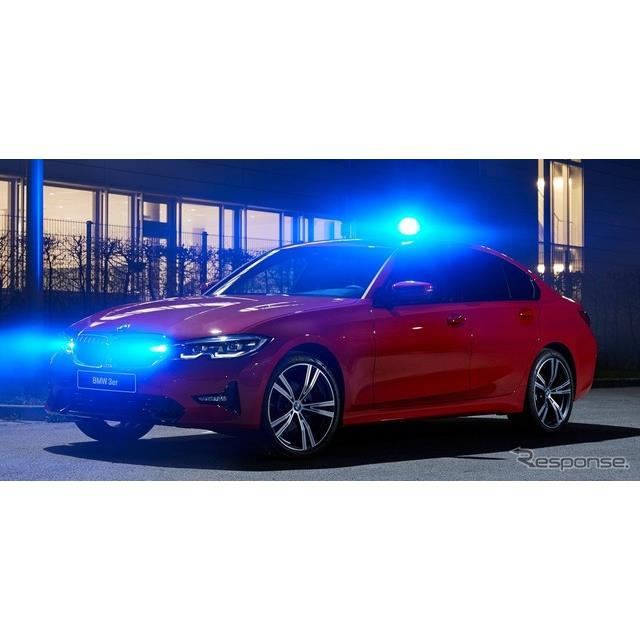 BMWグループは5月14日、新型BMW『3シリーズセダン』(BMW 3 Series Sedan)の覆面パトカー仕様を発表した。...