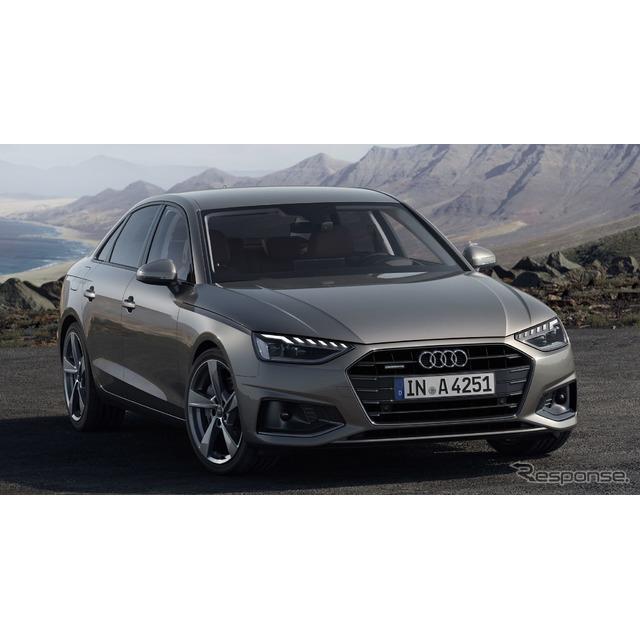 アウディは5月15日、改良新型『A4』(Audi A4)を欧州で発表した。セダンの『A4セダン』とワゴンの『A4アバ...