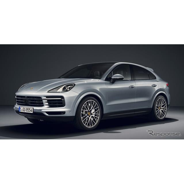 ポルシェは5月15日、『カイエンSクーペ』(Porsche Cayenne S Coupe)を欧州で発表した。  「カイエンク...