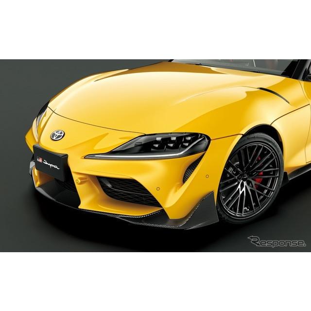 トヨタカスタマイジング&ディベロップメントは5月17日、TRDブランドの新製品として、新型『スープラ』用GR...