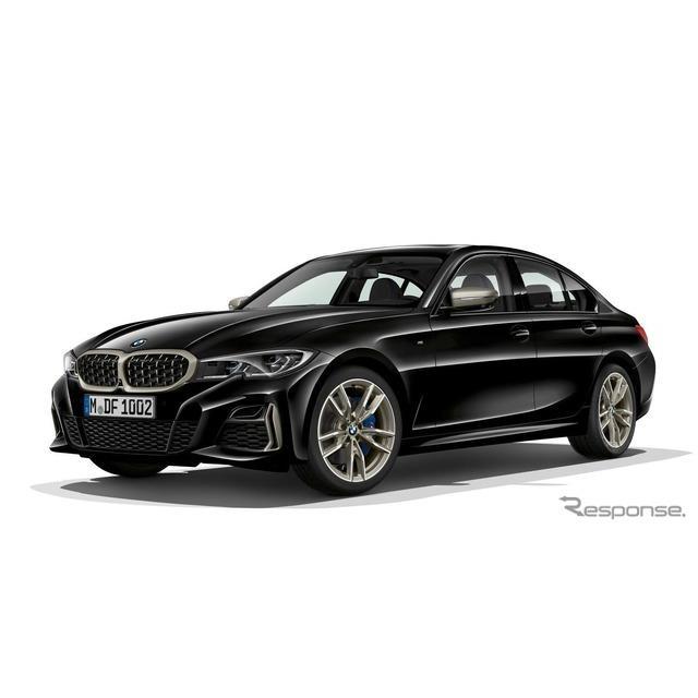 BMWは、新型『3シリーズセダン』(BMW 3 Series Sedan)の高性能グレード、「M340i xDriveセダン」を7月、...