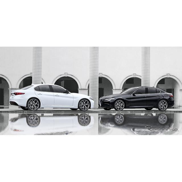 FCAジャパンは、アルファロメオ『ジュリア』に特別仕様車「モノクロームエディション」を設定し、5月22日よ...