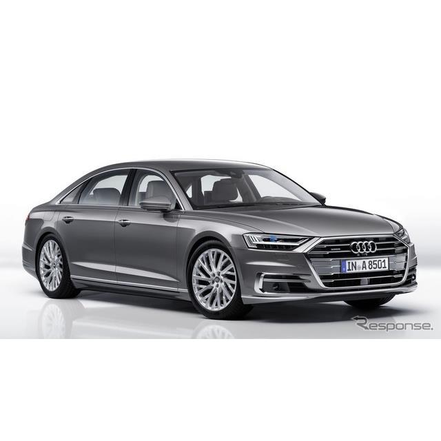 アウディは5月23日、ドイツで開催した年次株主総会において、アウディ『A8』(Audi A8)ファミリーを将来、...