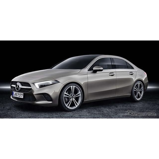 メルセデスベンツは5月24日、『Aクラスセダン』(Mercedes-Benz A-Class Sedan)の生産を開始した、と発表...