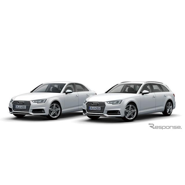 アウディ ジャパンは、主力モデル『A4』に、エクステリアデザインや機能面を充実させた特別仕様車「Meister...