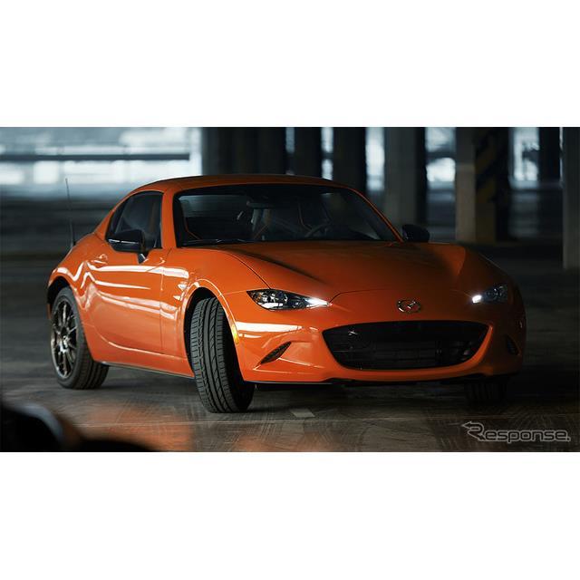 マツダは、「ロードスター30周年記念車(リトラクタブルハードトップモデル:RF)の販売台数について、当初...