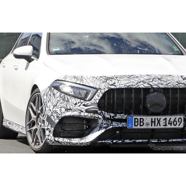 メルセデスベンツ『Aクラス』に設定されるハードコアモデル『AMG A45』市販型プロトタイプを、これまでで最...