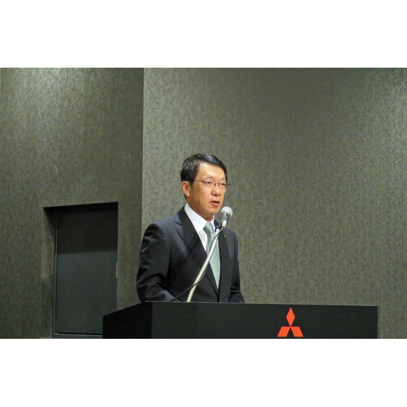三菱自動車の新たな執行役CEOに就任する予定の加藤隆雄氏。