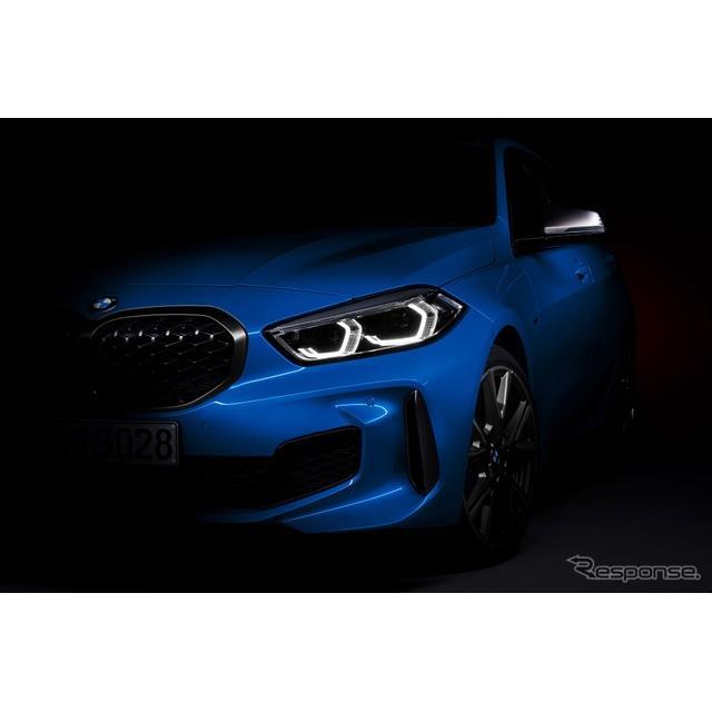 BMW 1シリーズ 新型のティザーイメージ