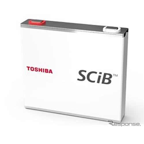 東芝の二次電池 SCiB