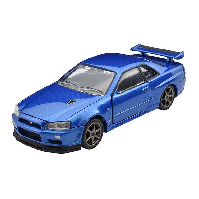 トミカプレミアムRS 日産 スカイライン GT-R V・specII Nur (ベイサイドブルー)