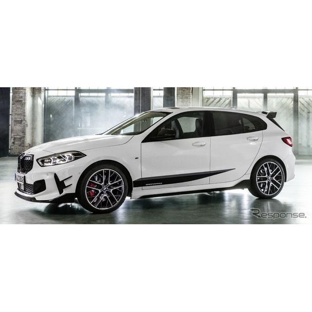 BMWは、新型『1シリーズ』(BMW 1 Series)の欧州発売に合わせて、「Mパフォーマンスパーツ」を設定すると...