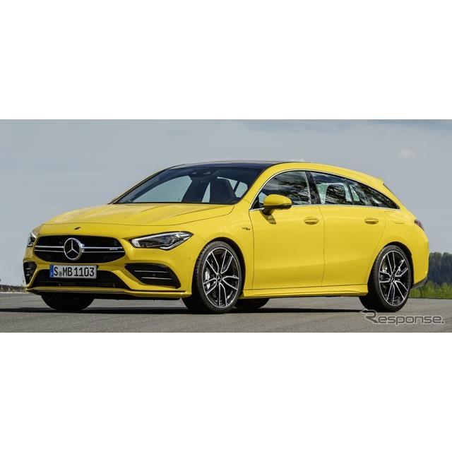 メルセデスベンツは6月5日、メルセデスAMG『CLA 35 4MATICシューティングブレーク』(Mercedes-AMG CLA 35 ...