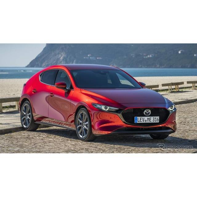 マツダの欧州部門は6月5日、新型『マツダ3』(Mazda3)の新世代ガソリンエンジン「SKYACTIV-X」搭載車の欧...