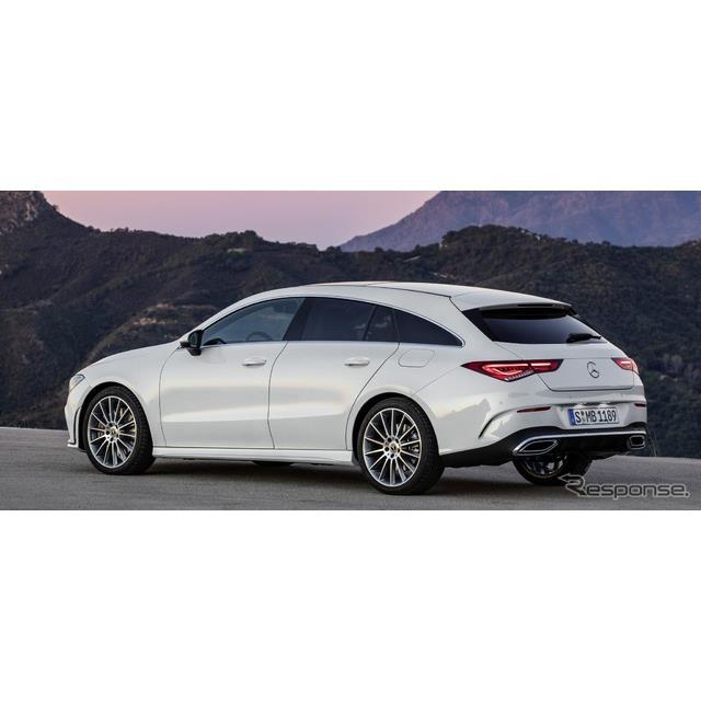 メルセデスベンツは6月17日、新型『CLAシューティングブレーク』(Mercedes-Benz CLA Shooting Brake)の受...