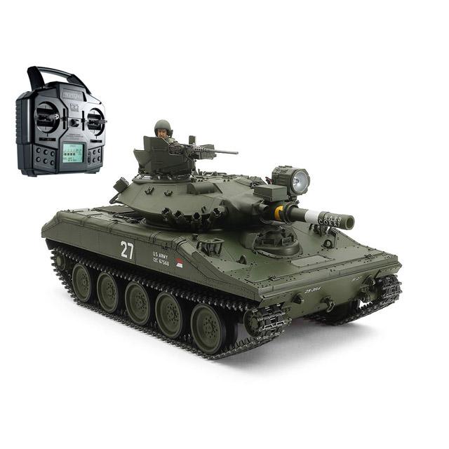 「1/16RC アメリカ空挺戦車 M551 シェリダン フルオペレーションセット(プロポ付)」