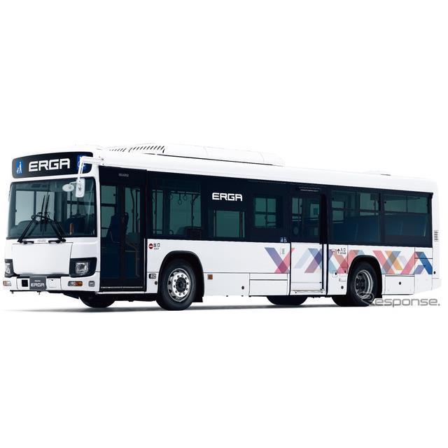 いすゞの大型路線バス「エルガ」
