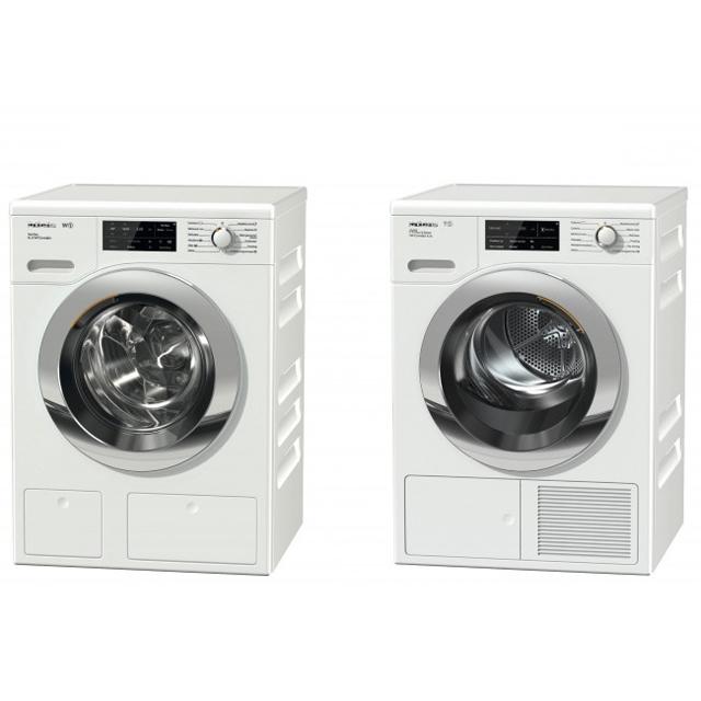 「W1洗濯機 WCI660 WPS」「T1衣類乾燥機 TCJ680 WP」