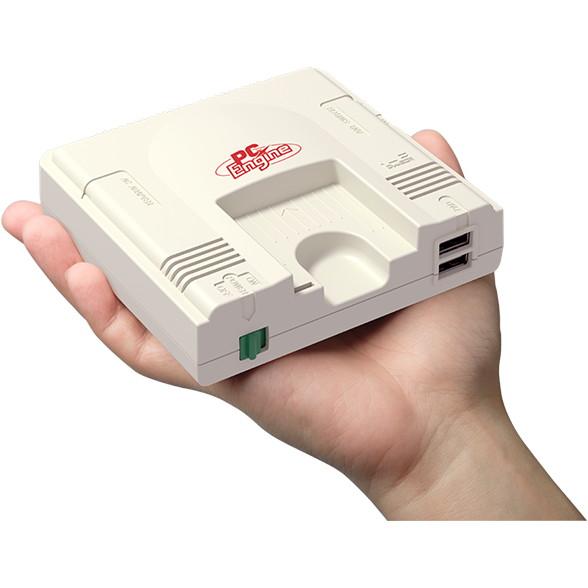 コナミ 手のひらサイズのゲーム機「PCエンジン mini」